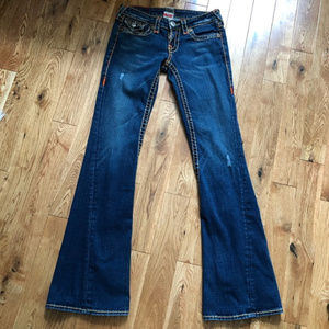 True religion bootcut jeans size 27